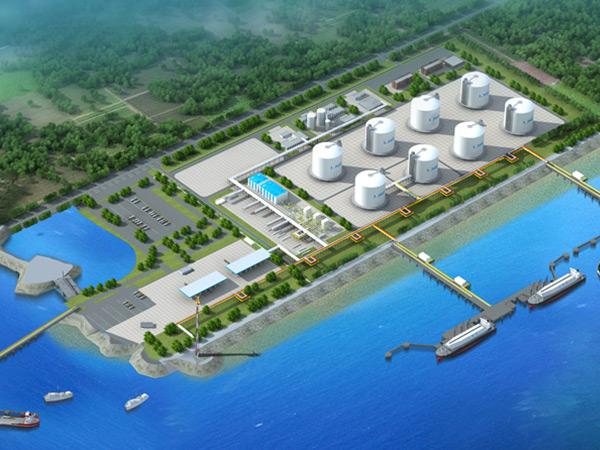 浙江舟山液化天然气(LNG)接收及加注站项目